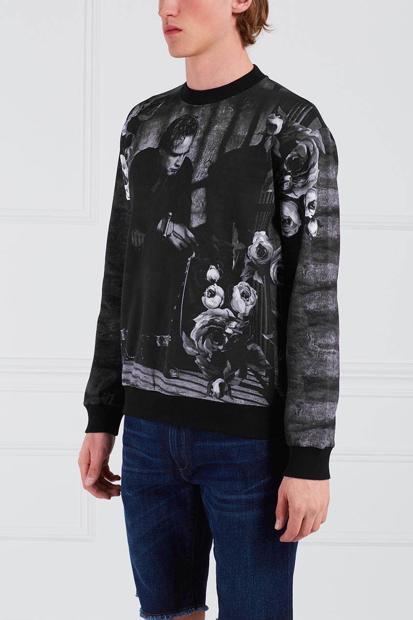 Dolce&Gabbana Хлопковый свитшот