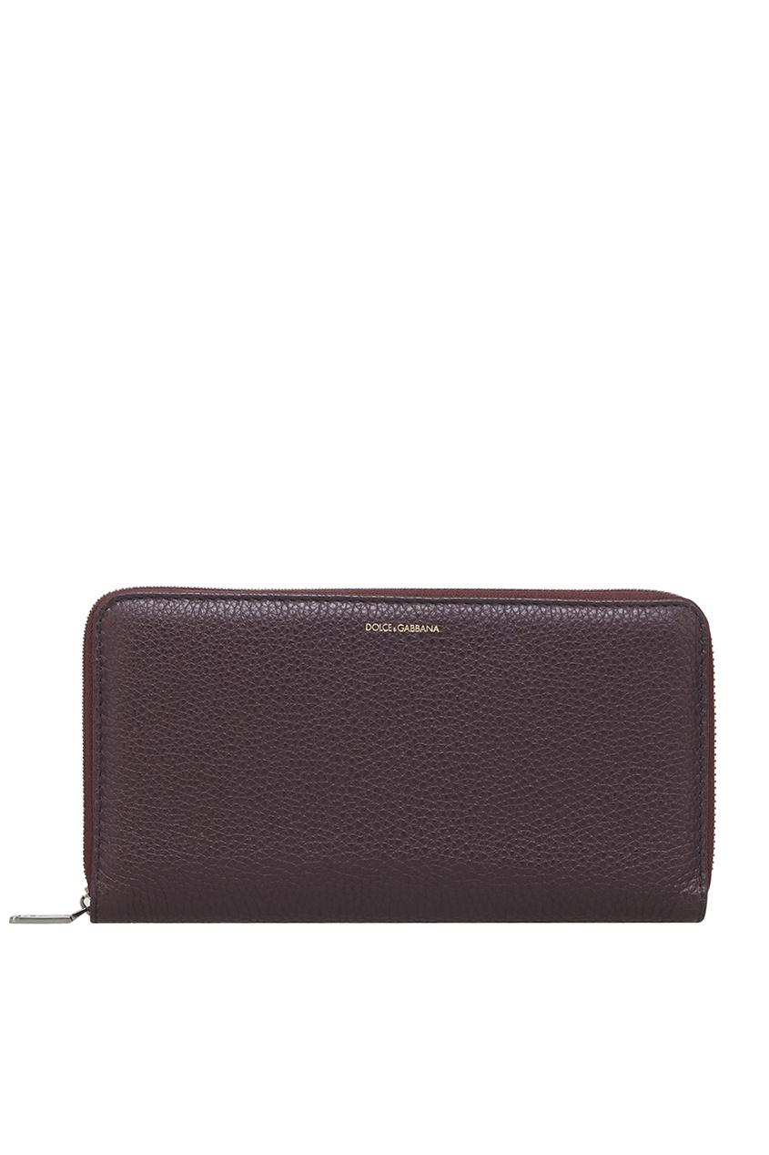 Dolce&Gabbana Кожаное портмоне портмоне мужское кожаное naijie nj605