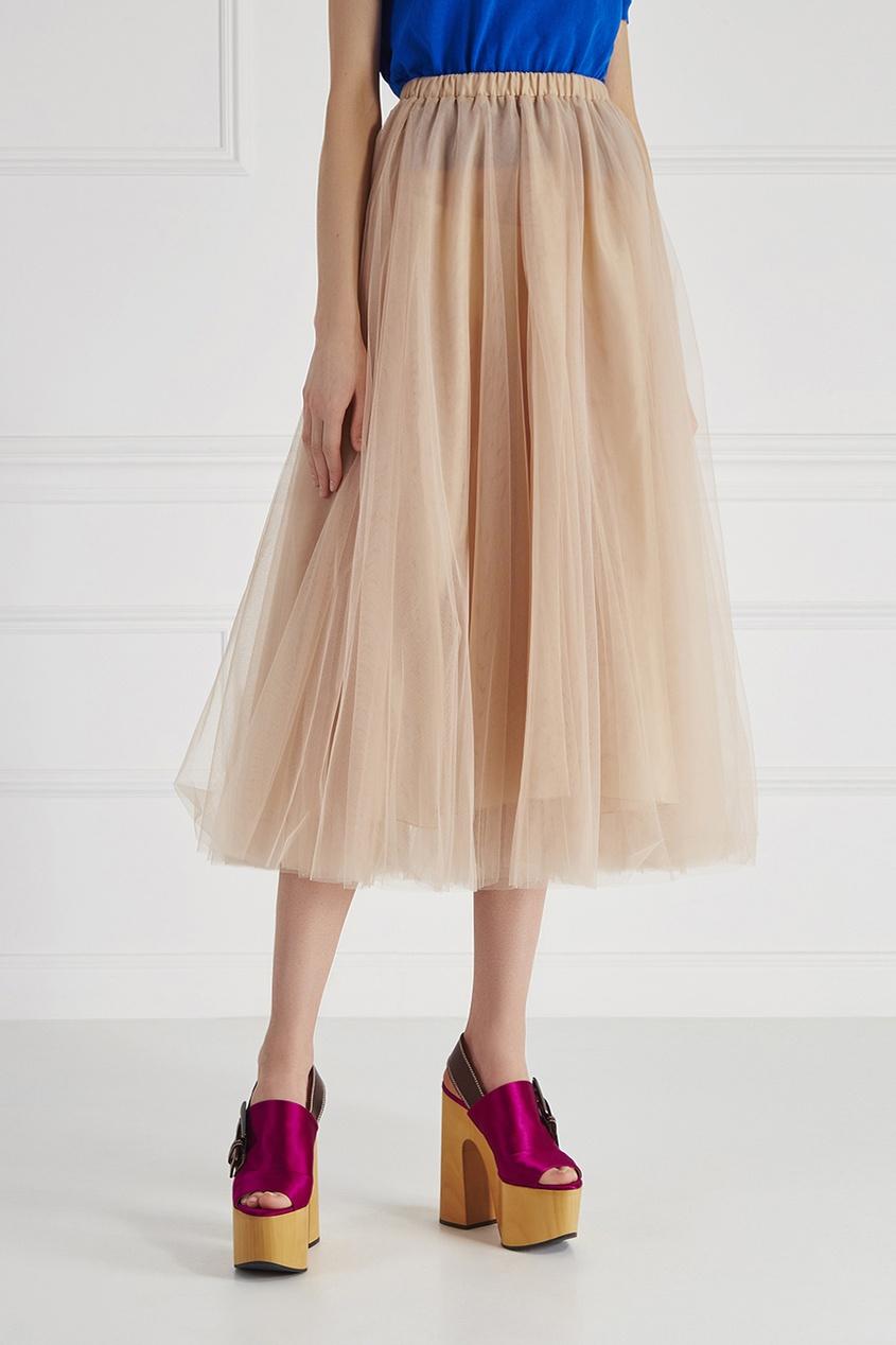Rochas Однотонная юбка украшения в стиле шурук