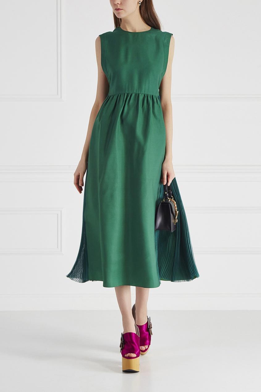Rochas Однотонное платье