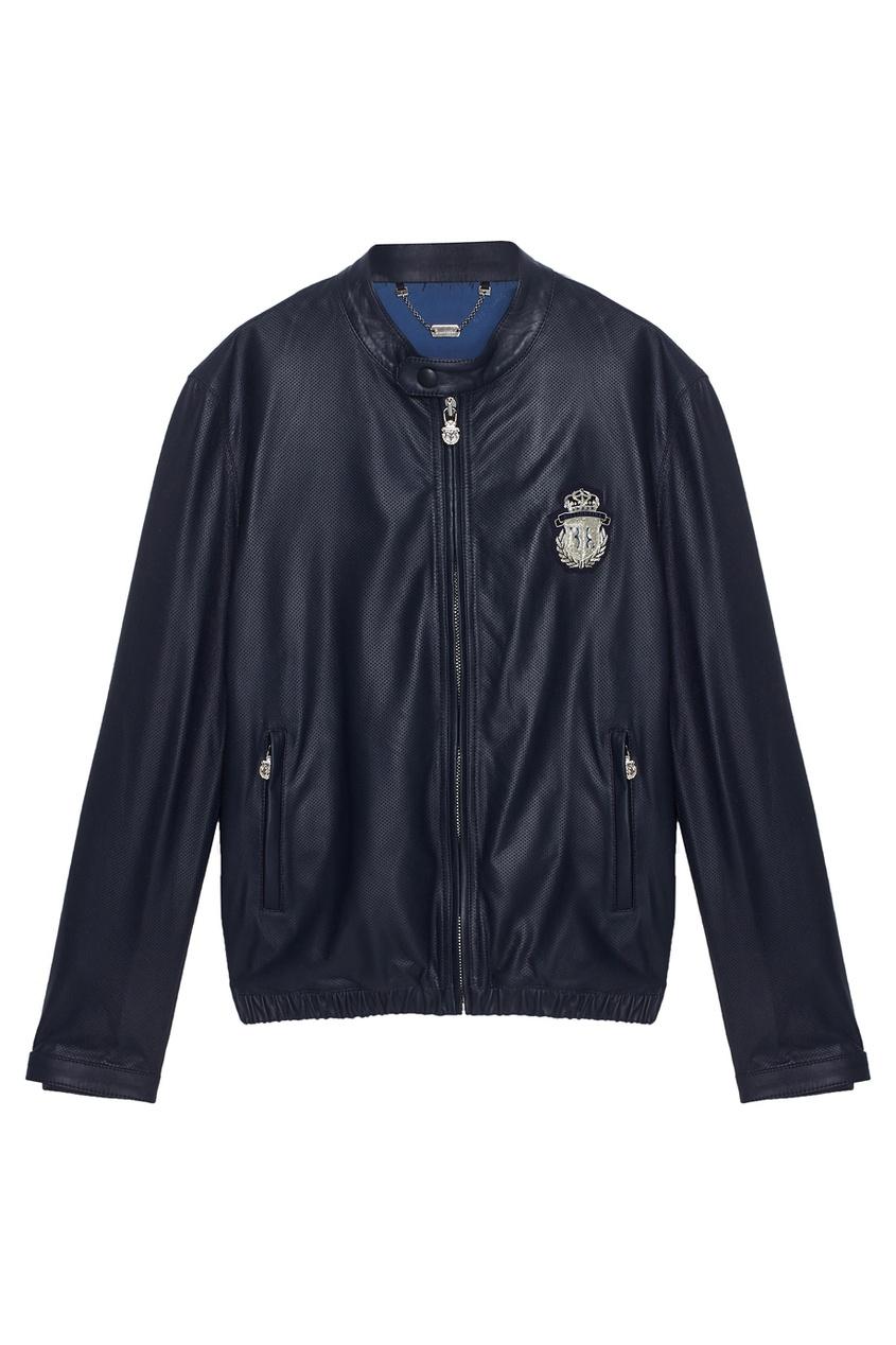 Billionaire Кожаная куртка marimann повседневная кожаная темно серая сумочка с брошью бабочкой от бренда marimann