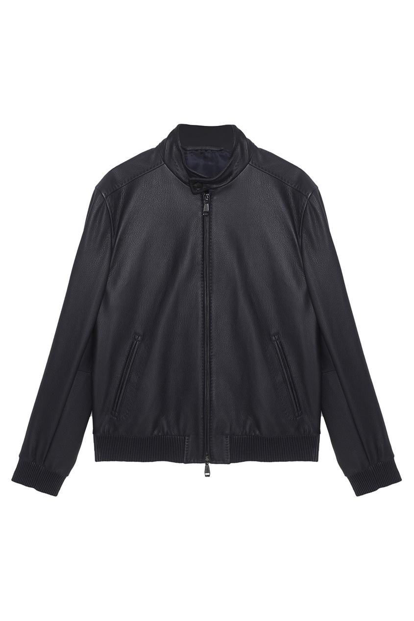 BRIONI Кожаная куртка brioni спортивный костюм от brioni 72536