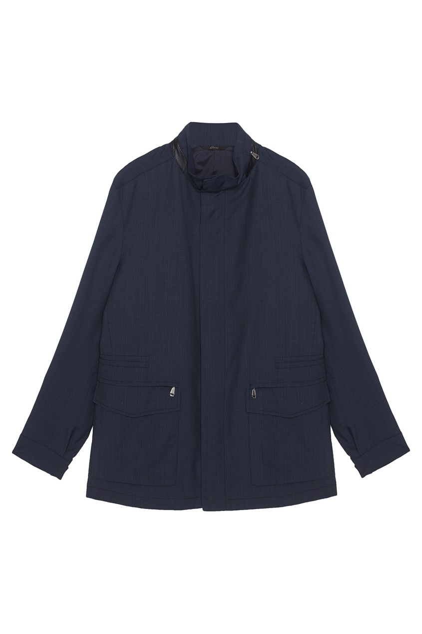 BRIONI Шерстяная куртка brioni спортивный костюм от brioni 72536