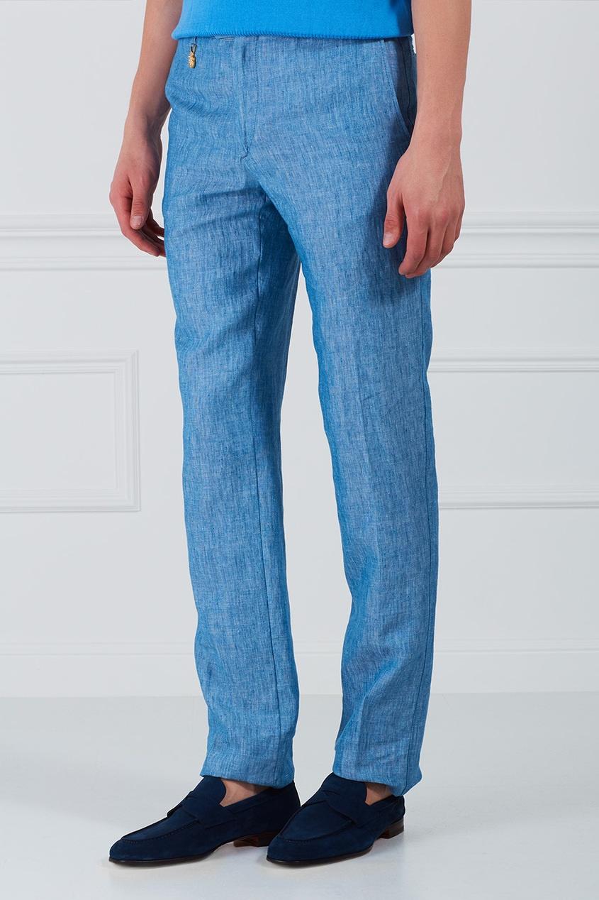 хлопковые брюки женские больших размеров