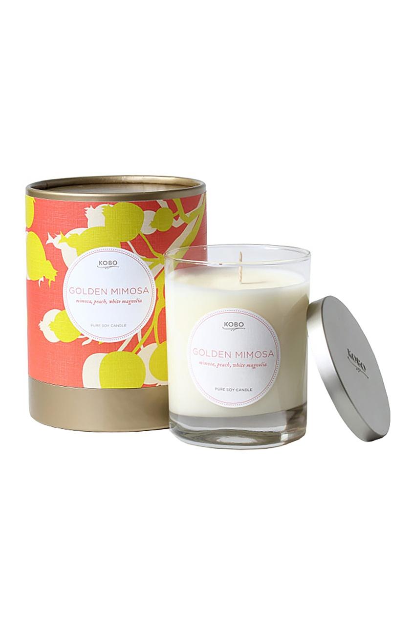 Kobo Candles Ароматическая свеча Golden Mimosa mimosa handbuch
