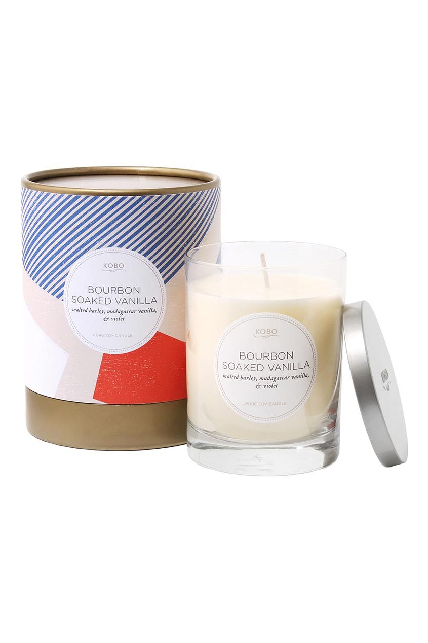 где купить Kobo Candles Ароматическая свеча Bourbon Soaked Vanilla дешево