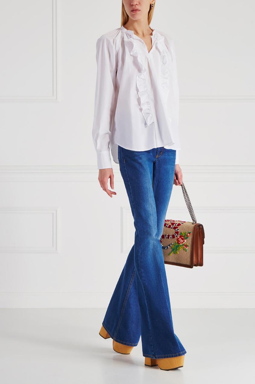 Хлопковая блузка Barbagianni