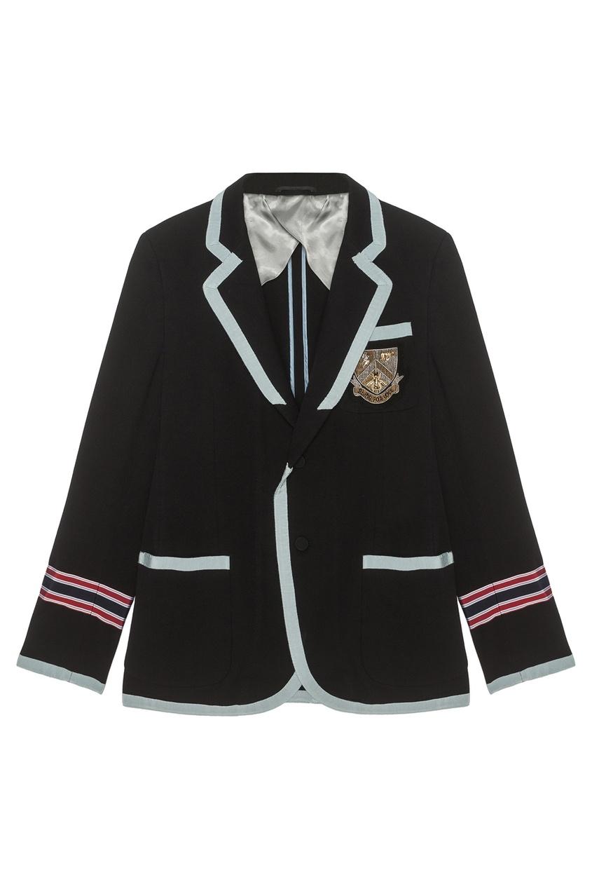 Хлопковый пиджак от Gucci