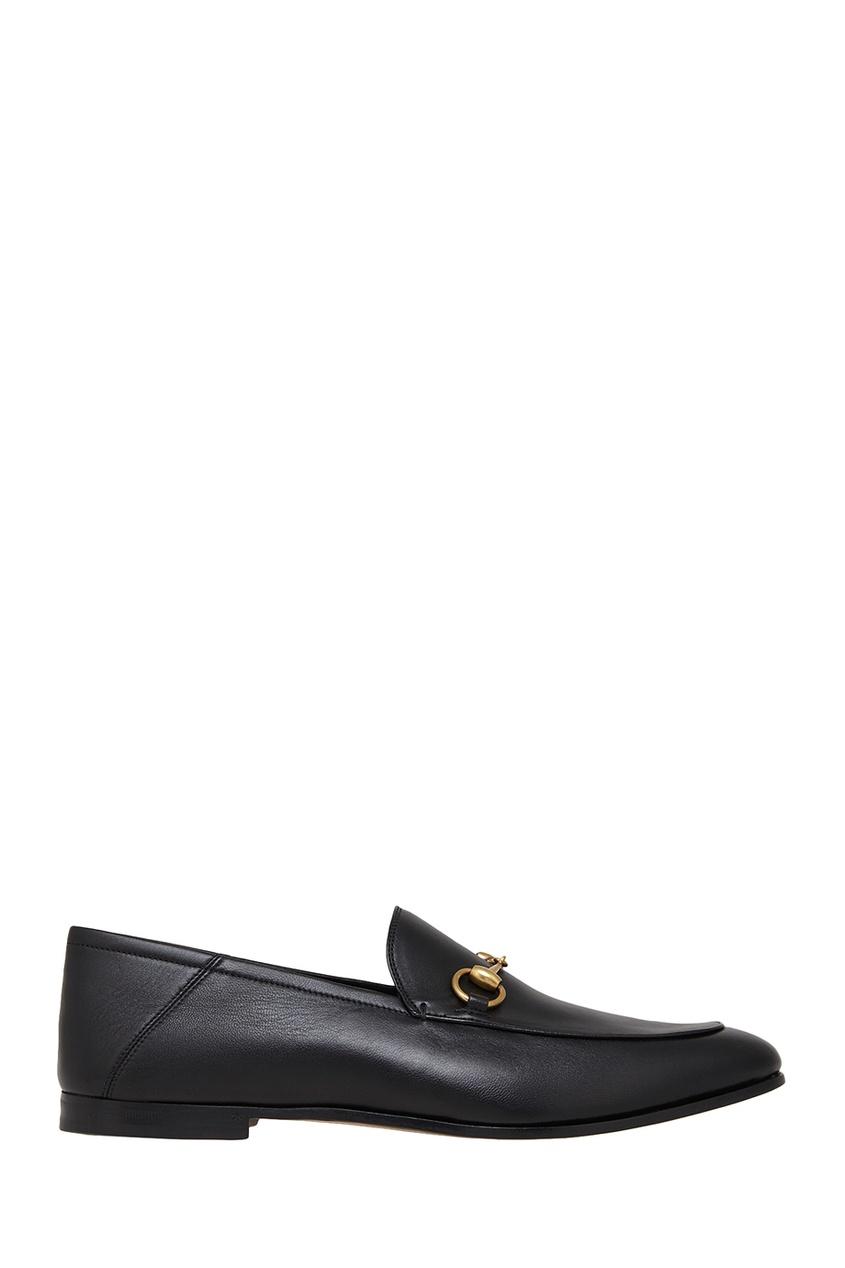 Gucci Кожаные лоферы gucci кожаные ремень с монограммами