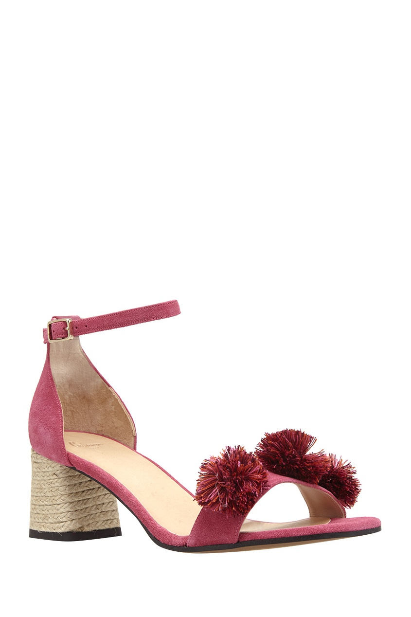 Замшевые босоножки Xuxa от AIZEL