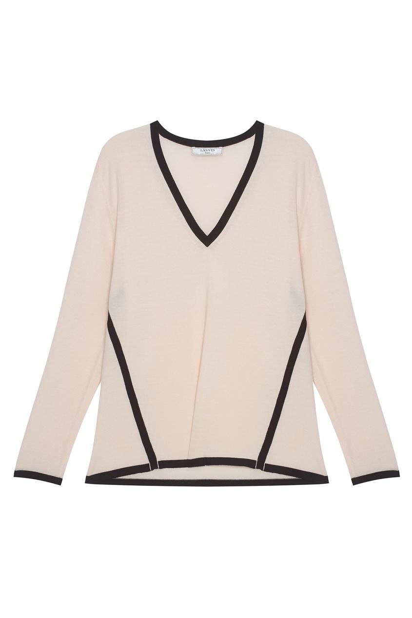 Lanvin Шерстяной пуловер