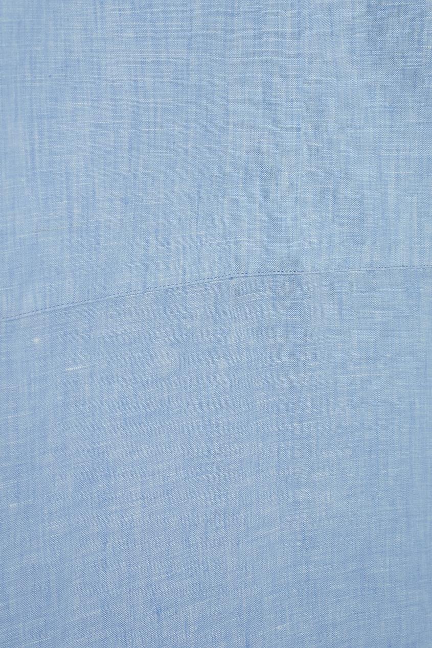Acne Studios Платье из льна Sena Li Shirt acne studios расклешенные джинсы lita