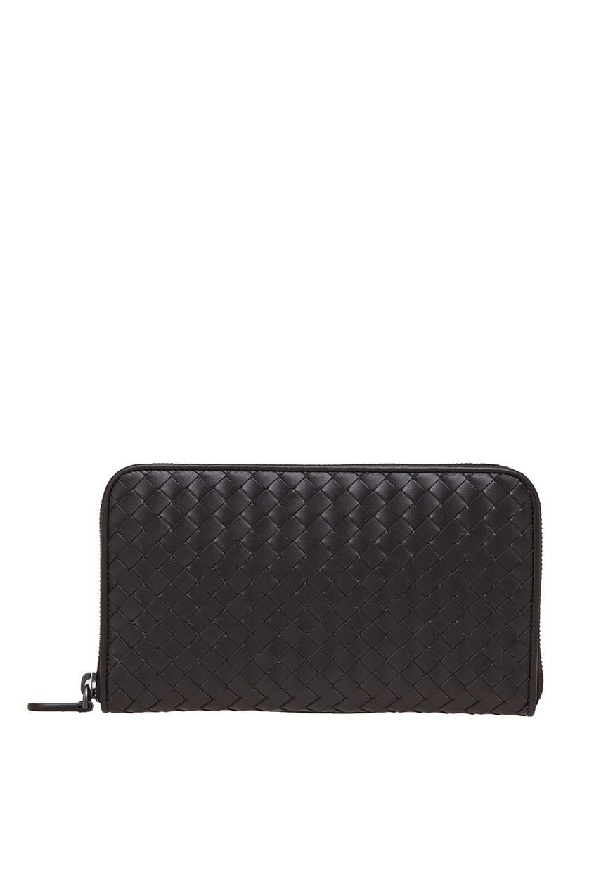 Bottega Veneta Кожаное портмоне портмоне мужское кожаное naijie nj605