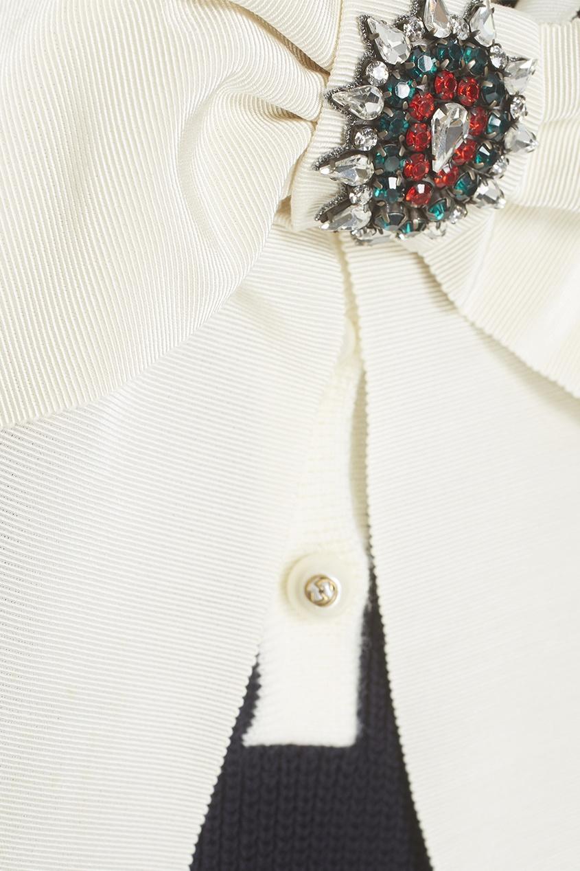 Gucci Хлопковая блузка
