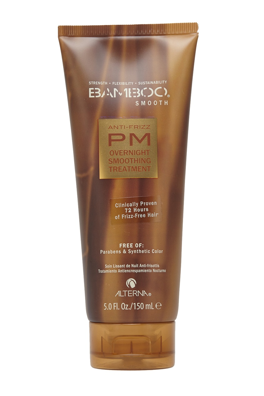 Alterna Полирующий шампунь для волос Alterna Bamboo Smooth Anti-Frizz PM Overnight Smoothing Treatment 150ml 1761 l16awa ab plc used in good condition