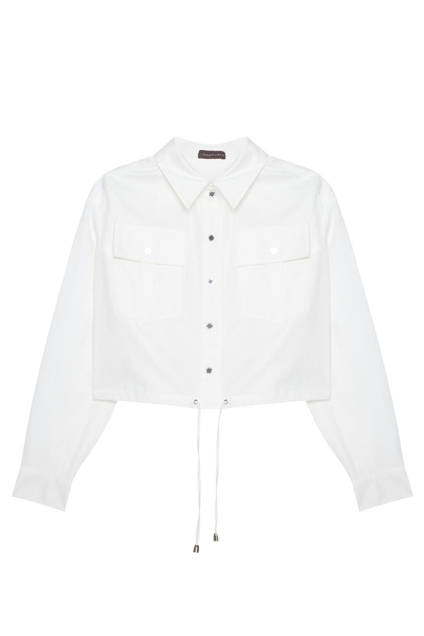 Chapurin Хлопковая блузка chapurin однотонная блузка