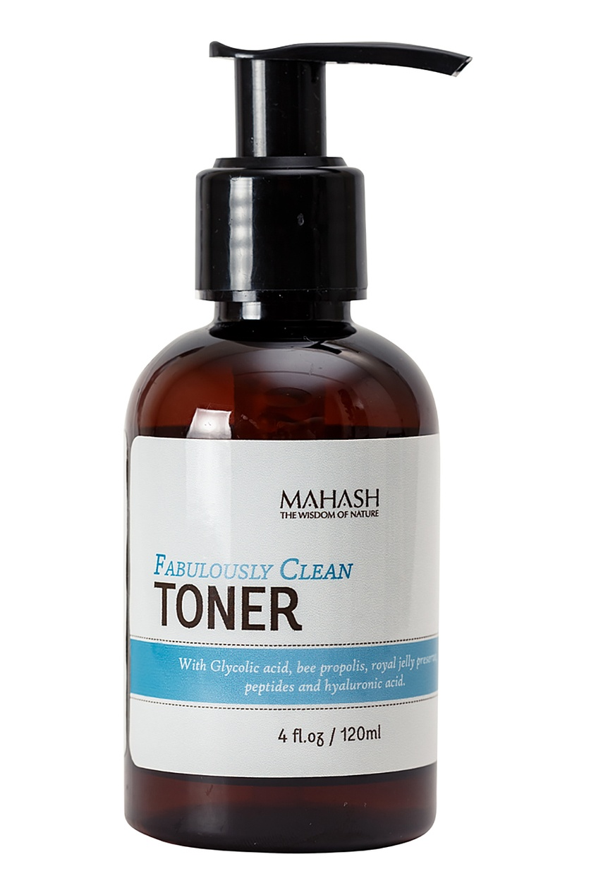 Mahash Тоник для лица Fabulously Clean Toner 120 ml сорочка btc сорочка