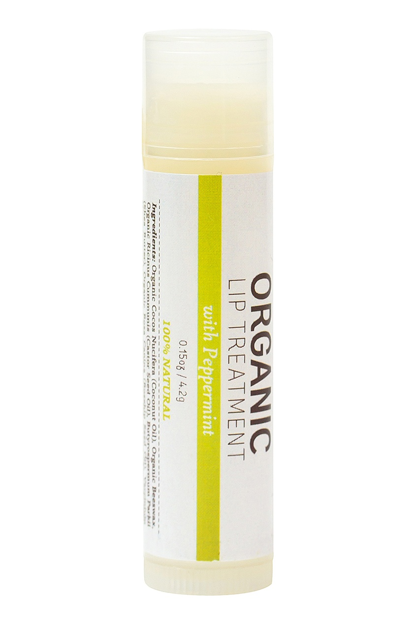 Бальзам для губ Organic Lip Treatment Peppermint 4,2 г