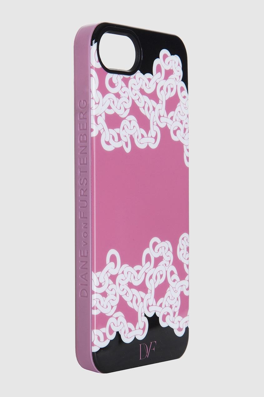 Чехол для iPhone 5 Chainlink Shadows Pink