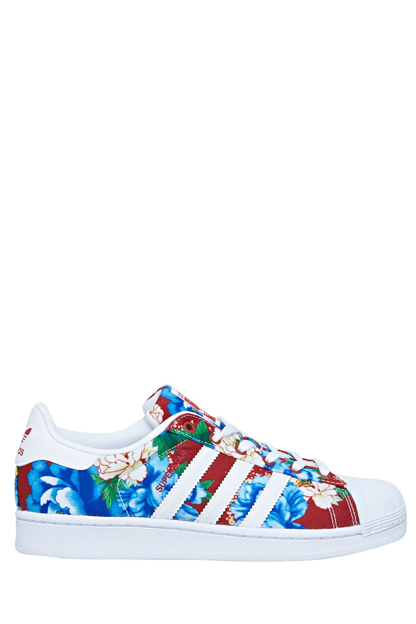 Adidas Кеды Superstar adidas x pharrell little kids superstar supercolor