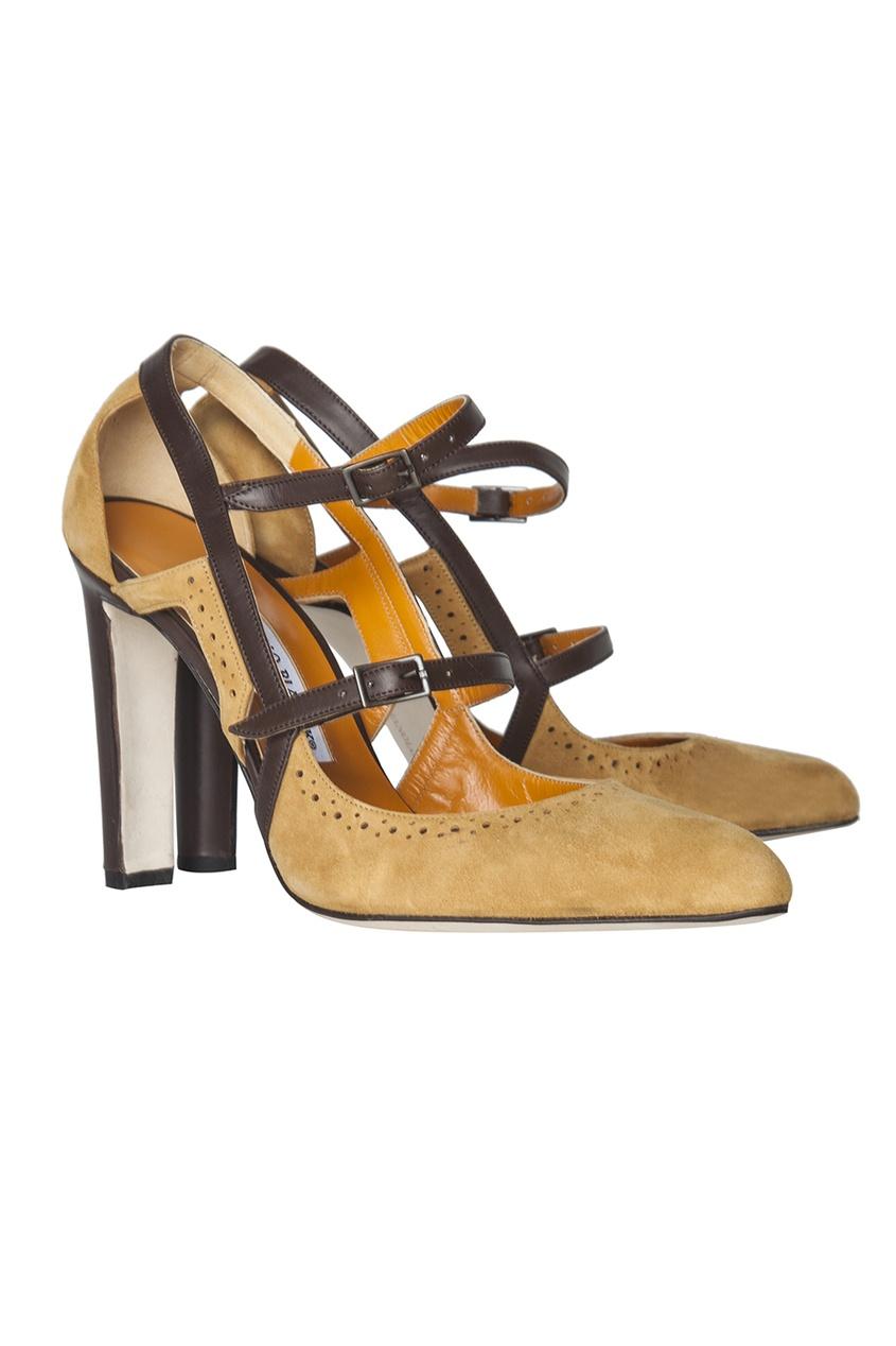 Замшевые туфли Velo.