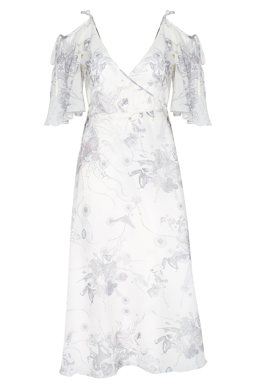 Купить со скидкой Платье с запахом