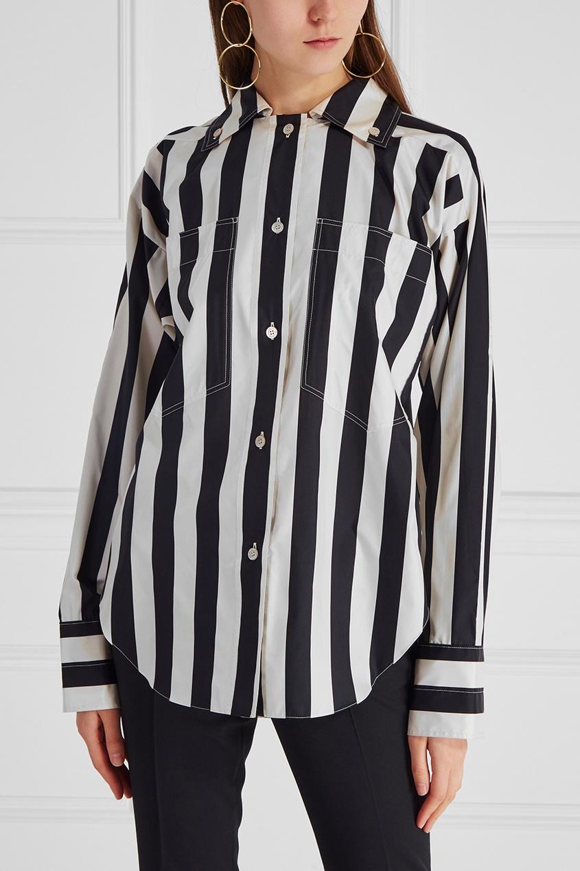 Nina Ricci Шелковая блузка