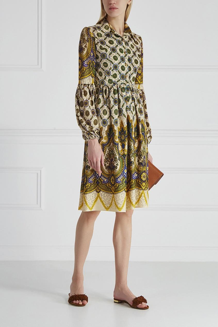 Платье-рубашка Questo