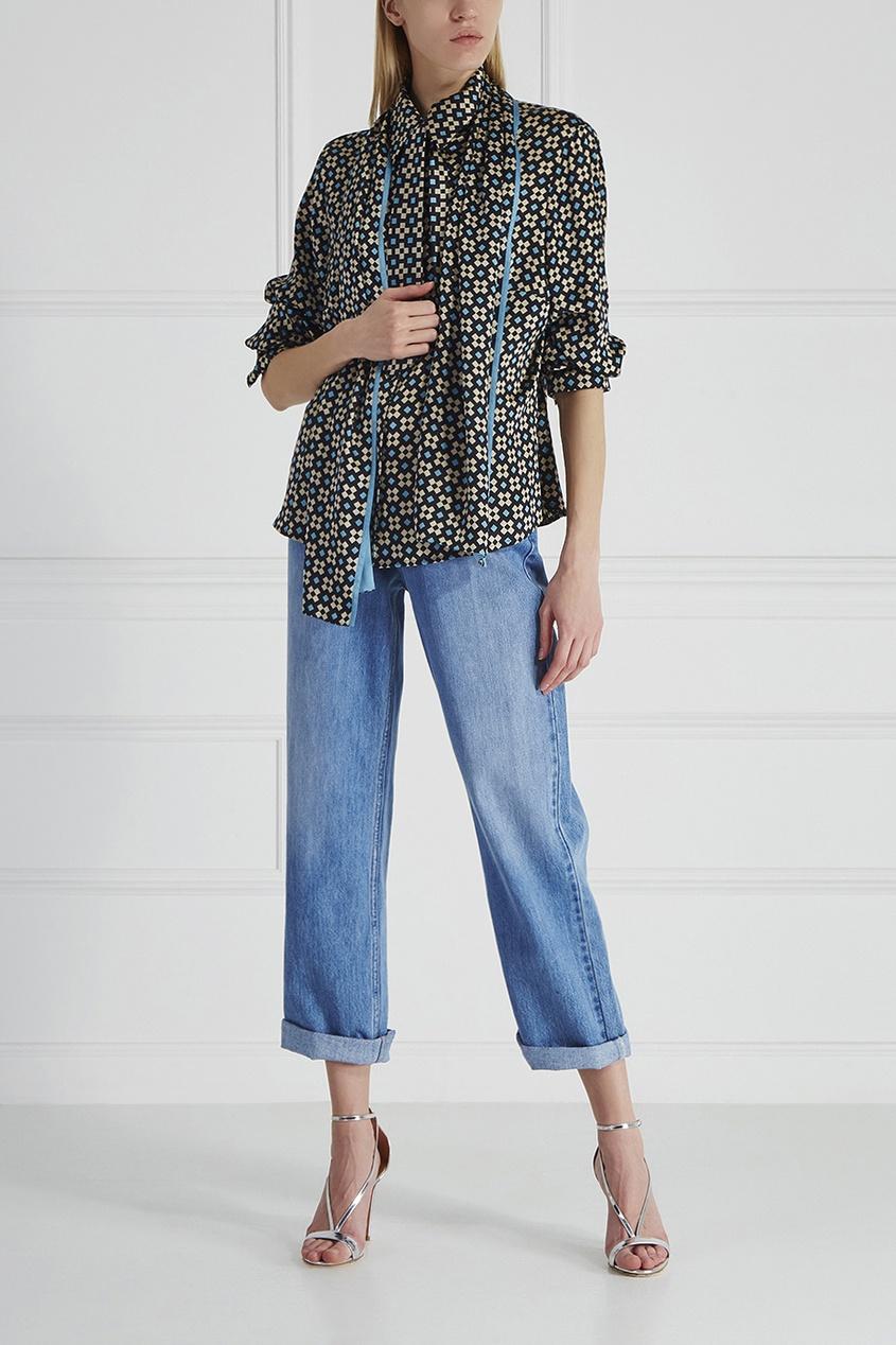 Шелковая блузка Louis Feraud