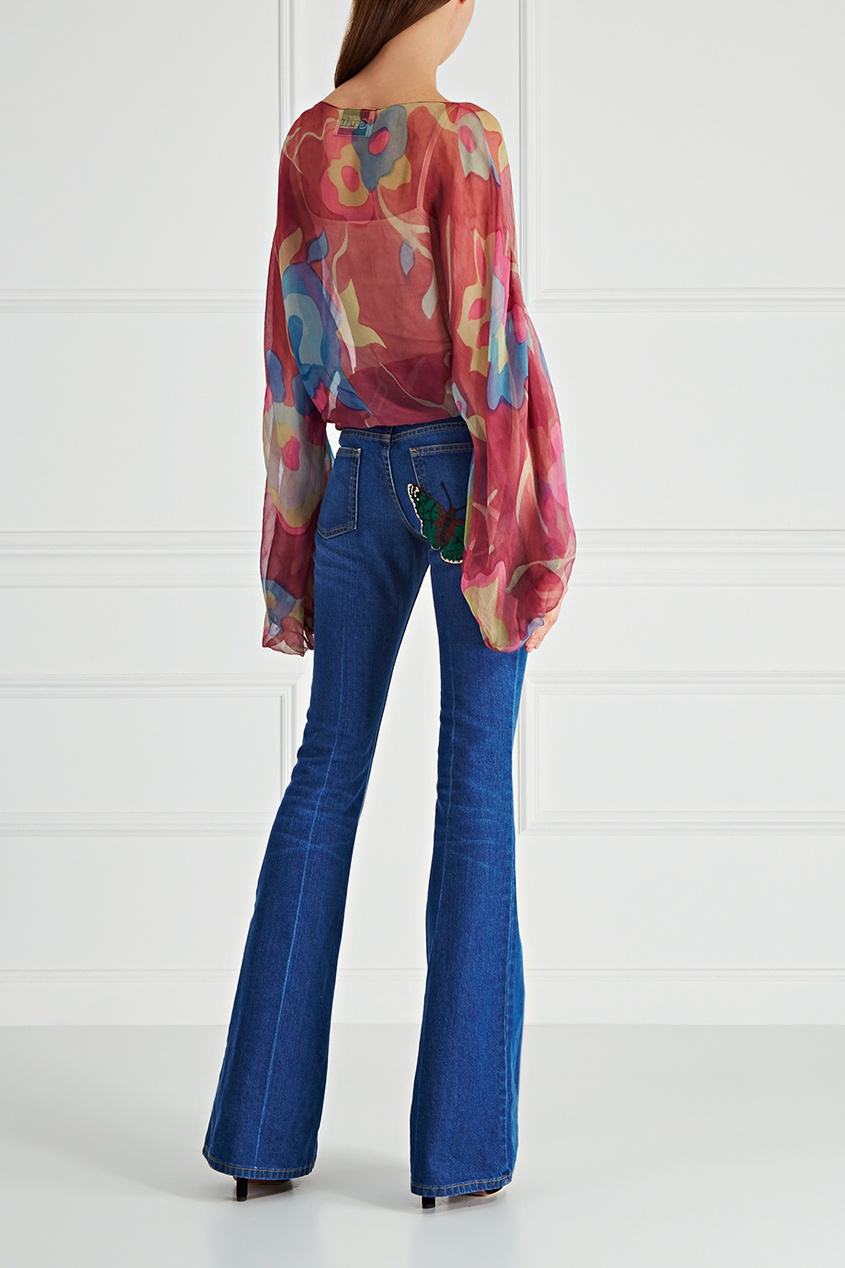 Шелковая блузка Valerie Porr Couture