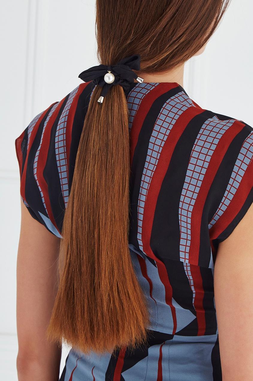 палитры с прядями Lisa Smith Резинка для волос с жемчужиной