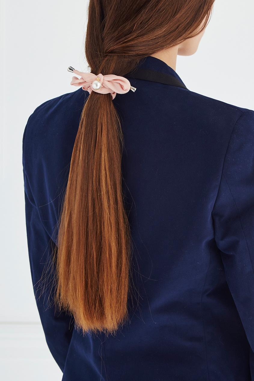 Lisa Smith Резинка для волос с жемчужиной lisa corti короткое платье