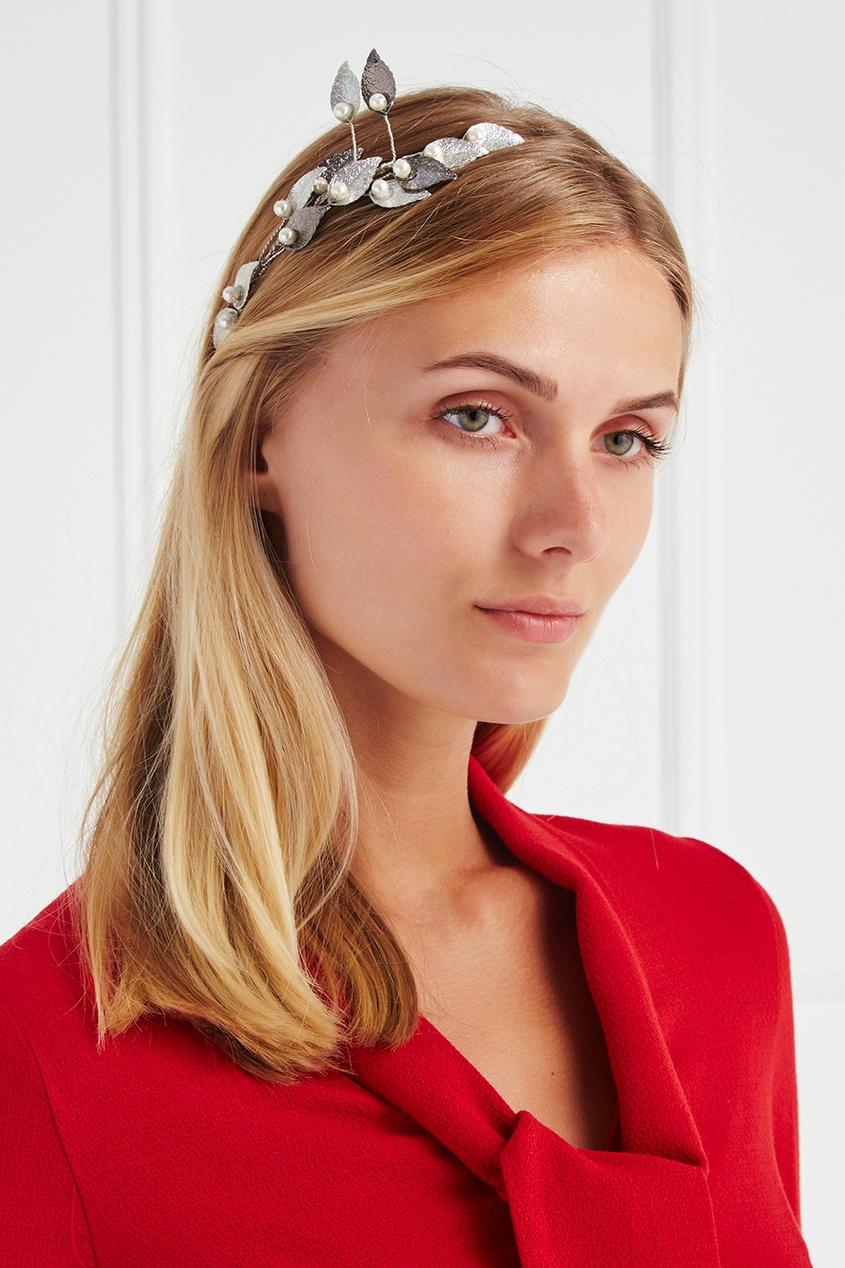 Lisa Smith Ободок с жемчужными бусинами lisa corti короткое платье