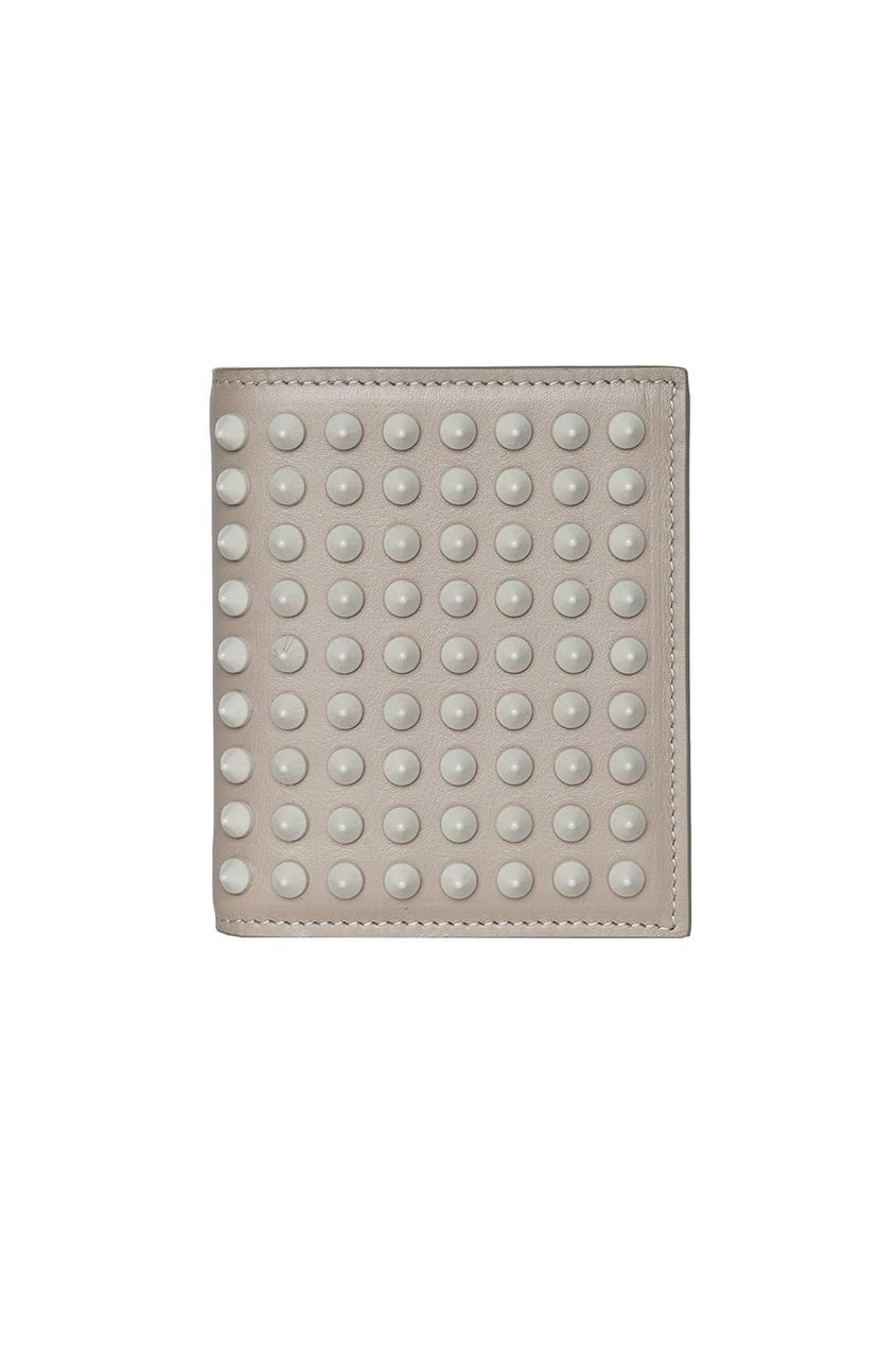 Кожаный кошелек Paros Wallet Calf/Spikes