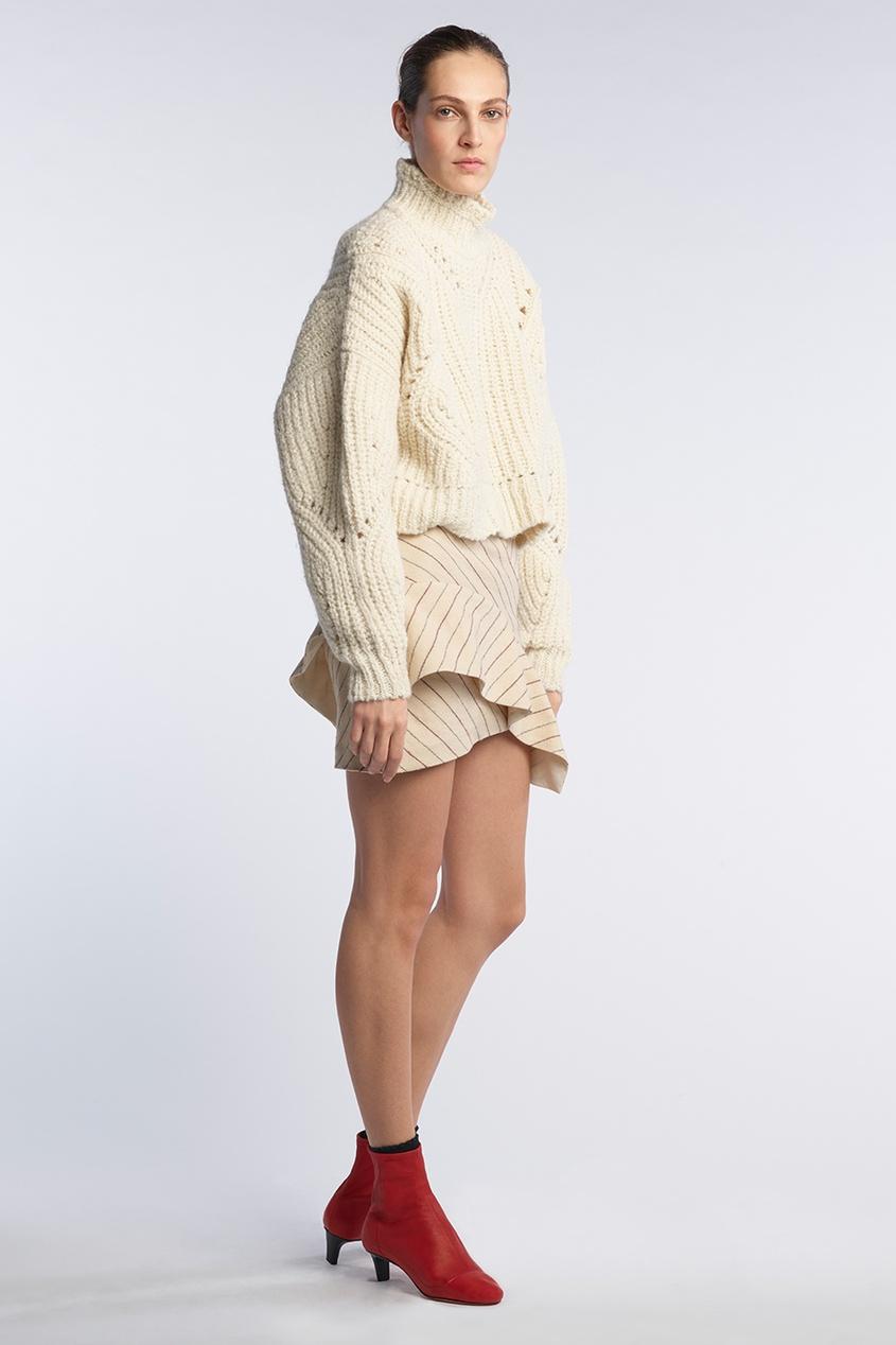 Isabel Marant Шерстяной свитер Farren ifratti 2в1 isabel lux колеса 12 рогожка экрю бордовый 01