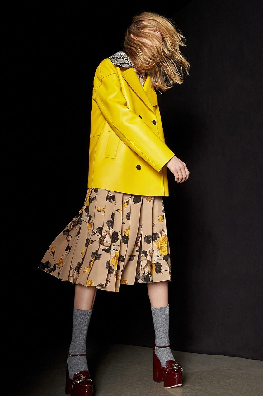 Rochas Шелковое платье rochas пальто из шерсти и шелка
