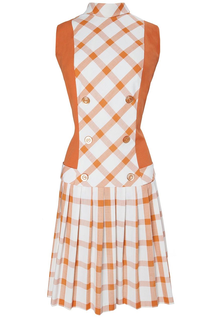 Хлопковое платье (80-е гг.)