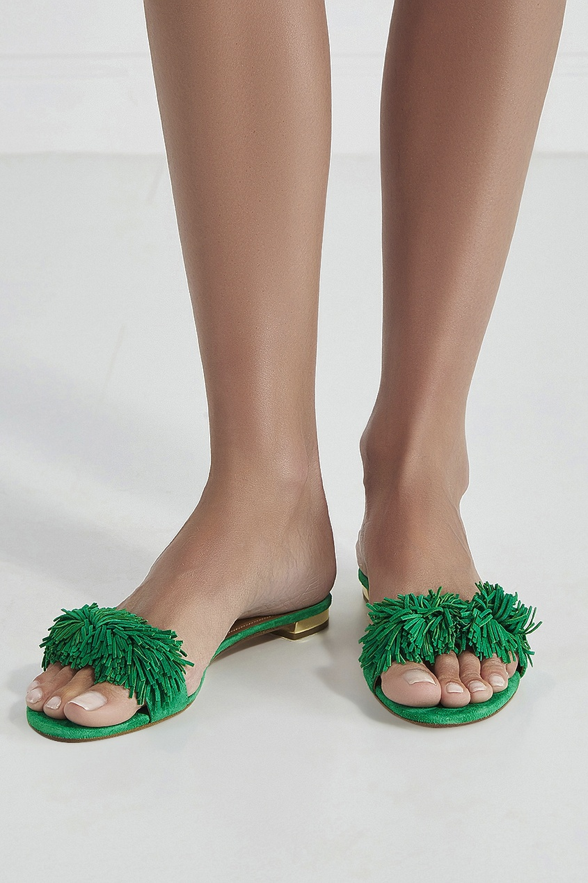 Замшевые сандалии Wild Thing