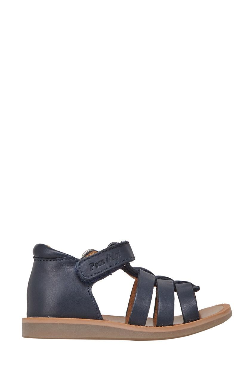 Кожаные сандалии Poppy Strap