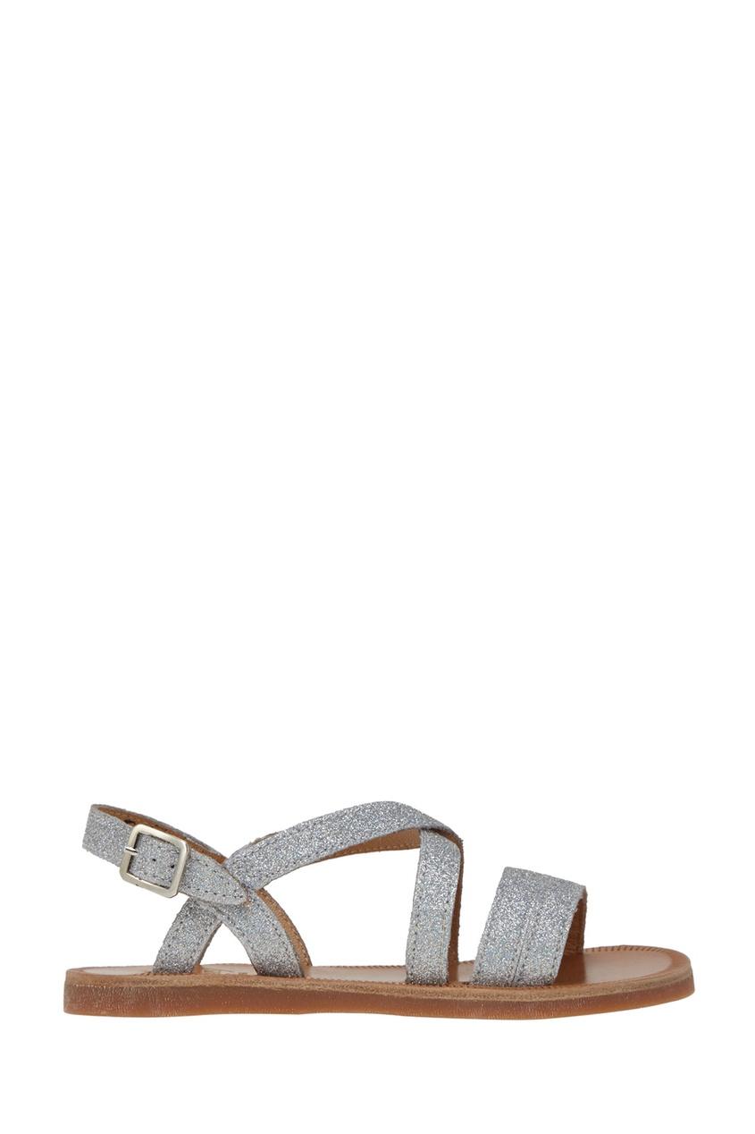 Кожаные сандалии Plagette Lagon