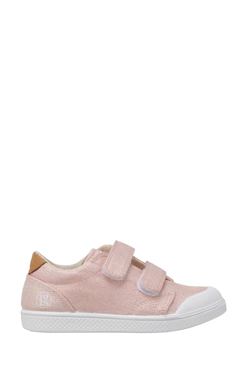 Текстильные кеды Shine Pink