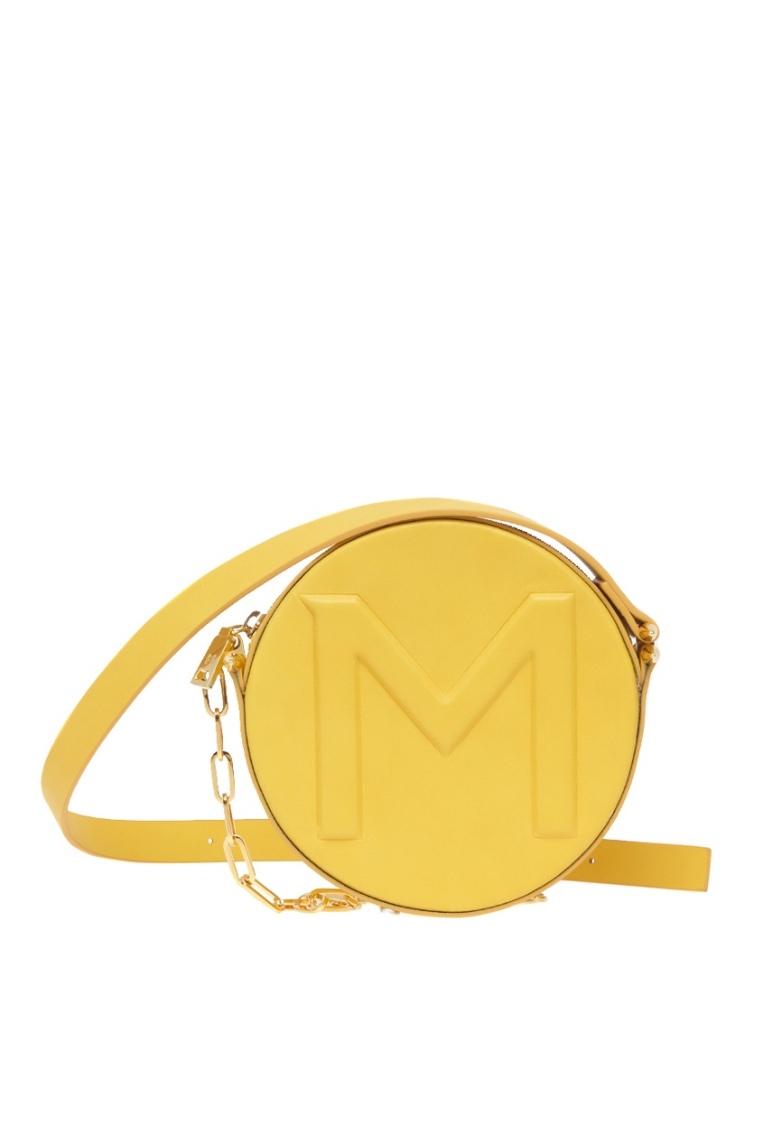 Mugler Кожаная сумка