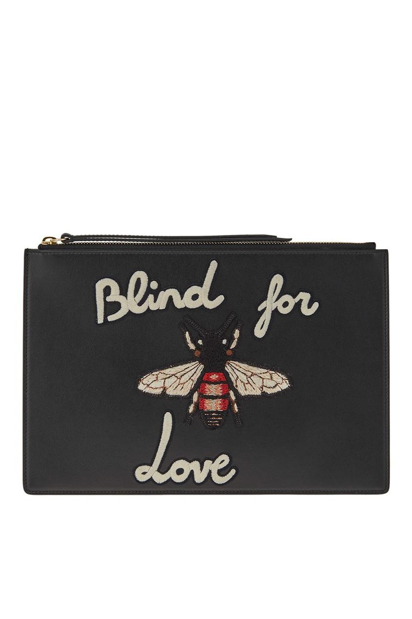 Gucci Кожаная сумка сумку fierro