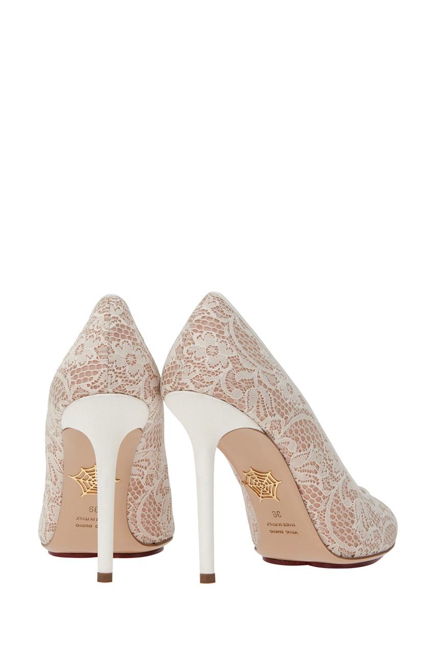 Туфли с кружевом Monroe