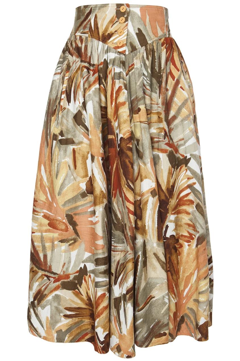 Хлопковая юбка (80-е гг.)