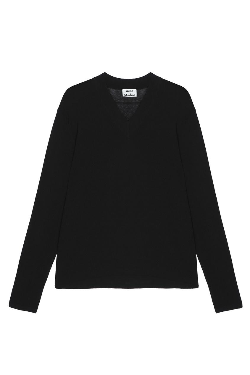 Хлопковый пуловер Kus