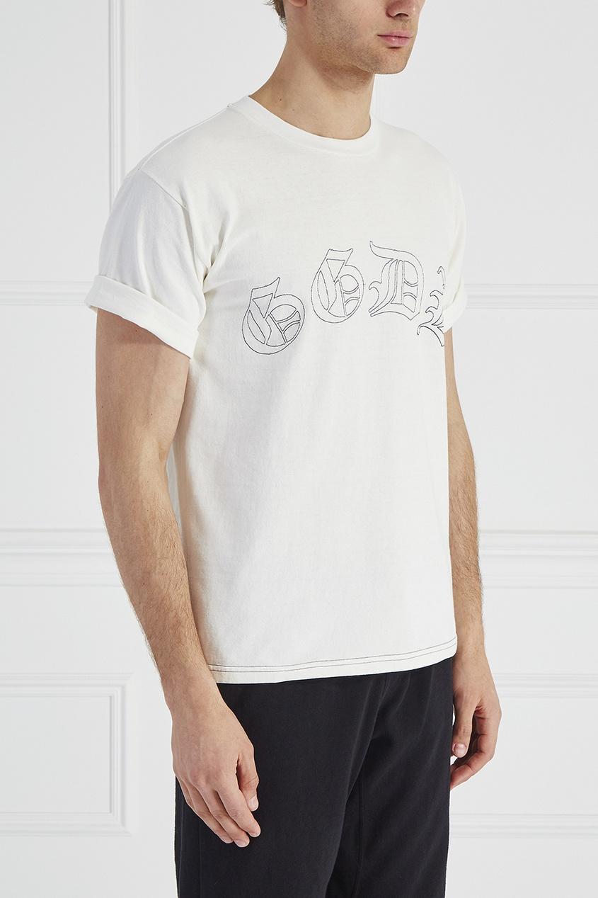 Golden Goose Deluxe Brand Хлопковая футболка