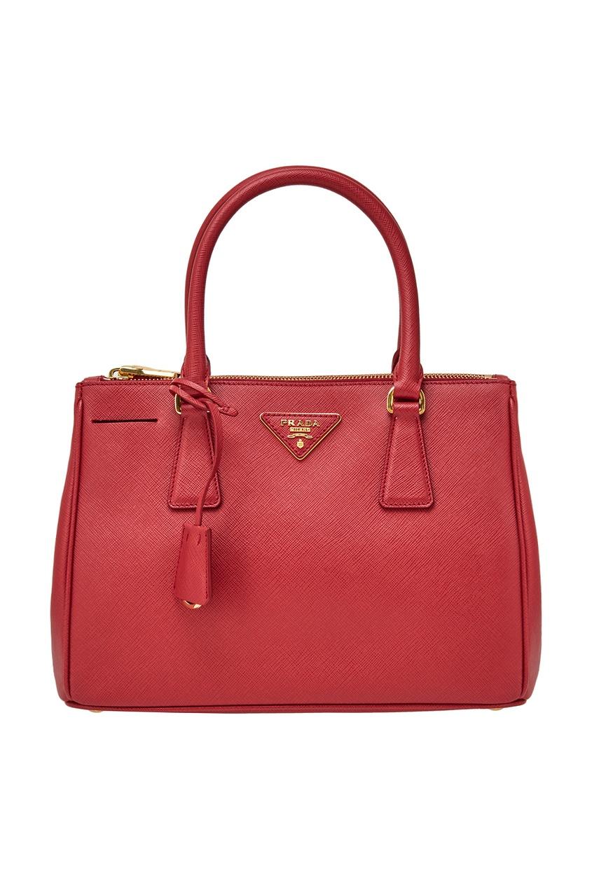Prada Кожаная сумка Galleria