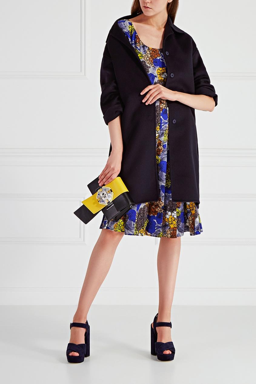 Prada Шелковое платье alexandr rogov шелковое платье
