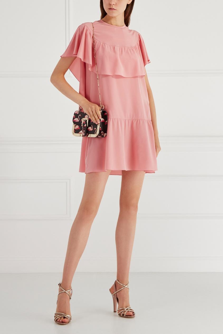 Red Valentino Шелковое платье